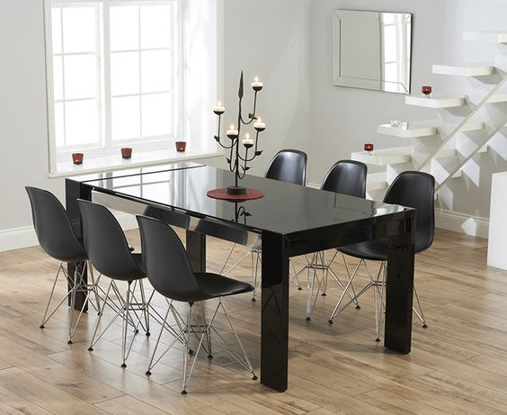 Lorenza Dining Table Elegance Contemporary Collection