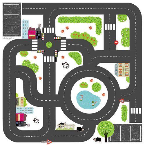 Un ingénieux circuit de petites voitures ! - Le blog de momes.net