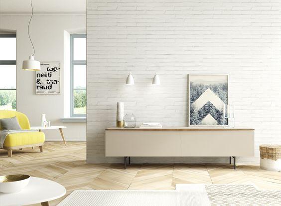 Salón de estilo nórdico. http://www.aristamobiliario.es/12-muebles-salon