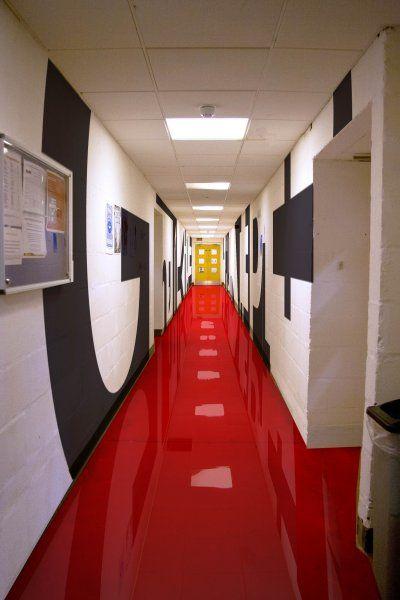 Corridor Design: High School Interior Design - Google Search