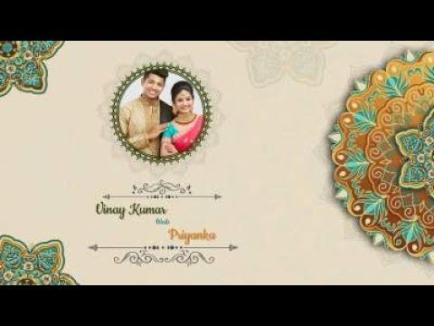 Elegant Wedding Video Invitation Wedding Invitation Video Maker Invi Wedding Invitation Video Wedding Reception Invitations Wedding Video