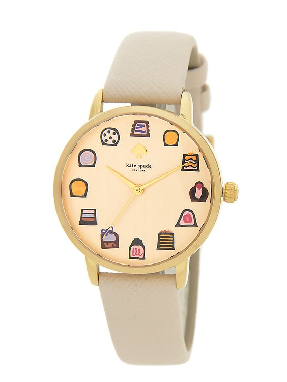 kate spade new york / metro metro chocolates strap watch--OMG STOP why is this only in Japan?!?