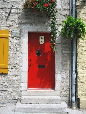 Les Choses de Marie: portas
