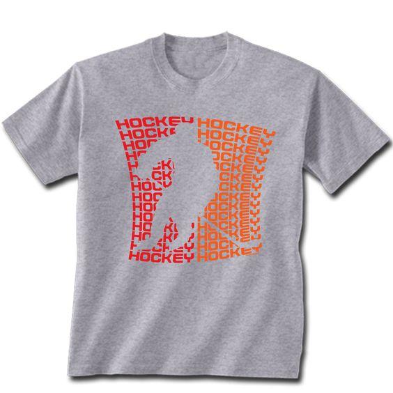 """Short Sleeve Hockey T- shirt """"All Hockey"""""""