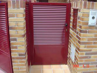 Puertas De Lama Mallorquina Lama De Tubo Oblicuo Este Tipo