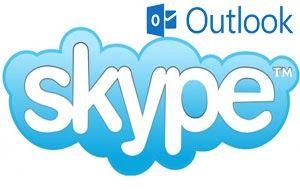 Skype y correo Outlook