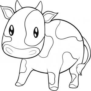 How To Draw An Easy Cow How To Draw In 2019 Pinterest Drawings