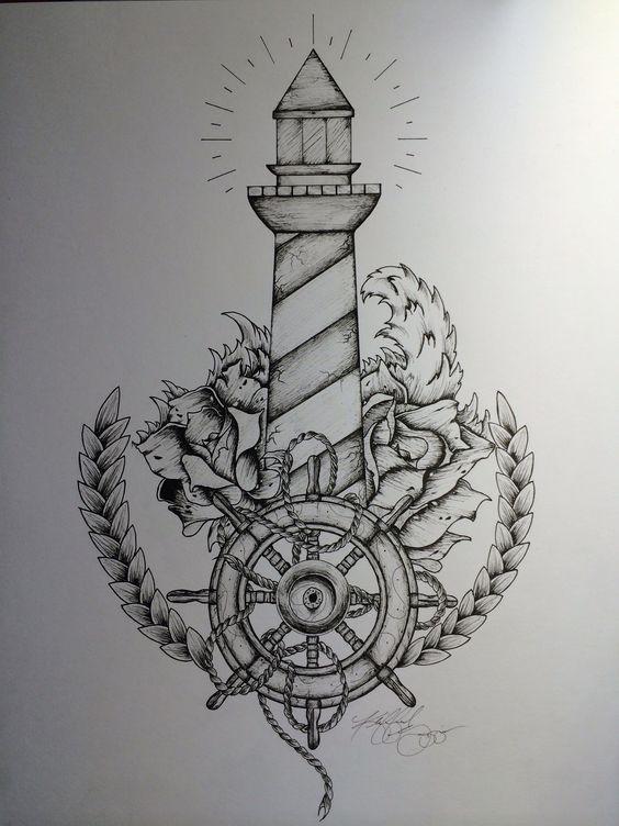 Tattoo inspiration... Lighthouse Tattoo