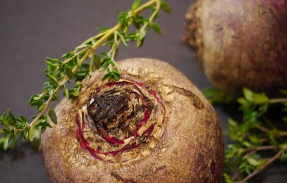 Honey Roasted Beets with Thyme. | The Humble Green Kitchen