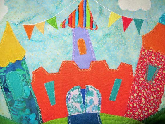 Un lloc de patchwork: Quilt El Castillo del rey