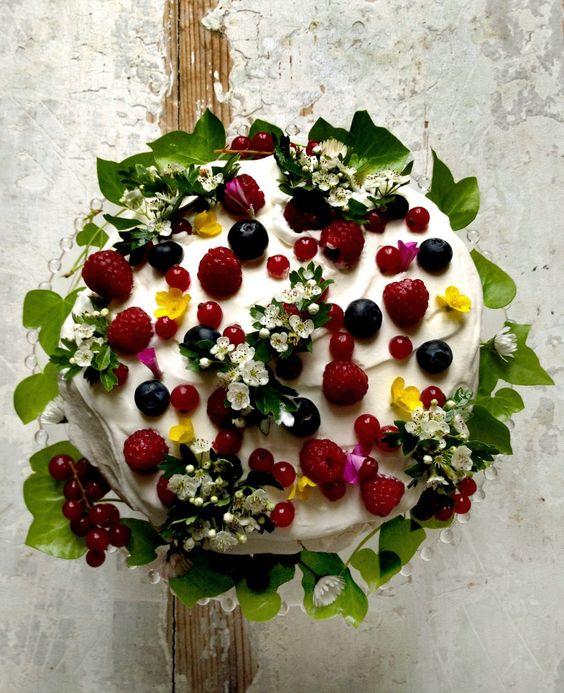 French garden cake