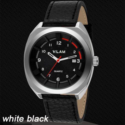 VILAM Luxe Merk Horloges Mannen Sport Waterdichte Lederen Analoge Quartz Horloge…
