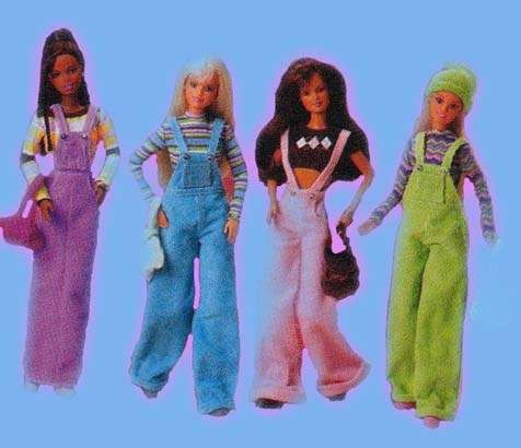 I don't know how I was lucky enough to have both the blue and the pink. I always wanted to be as cool as the pink girl :( never lived up to it lol