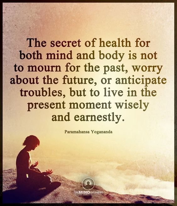 Body Present Mind Absent Quotes: The Secret Of Health For Both Body And Mind Is Not To