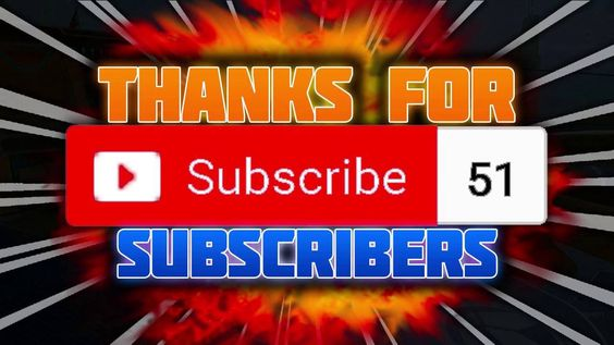 THANK YOU FOR 50 SUBSCRIBERS!