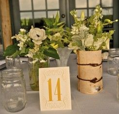 Clever use of mason jars