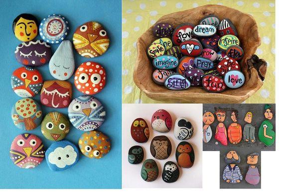 Ideias Xiques ~ pedras faça vc mesmo Pinterest Artesanato e Google