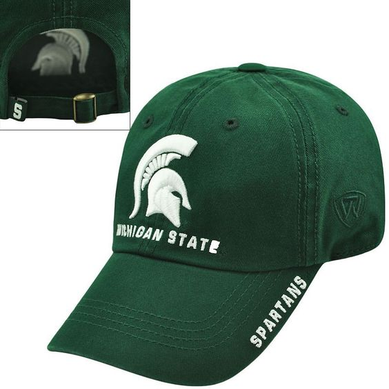Adult Top of the World Michigan State Spartans Undefeated Adjustable Cap,