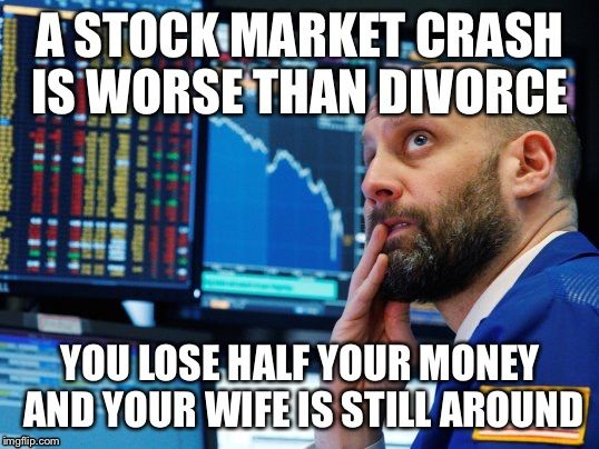37 Best Stock Market Memes That Will Make Your Day Stock Market Crash Marketing Meme Stock Market