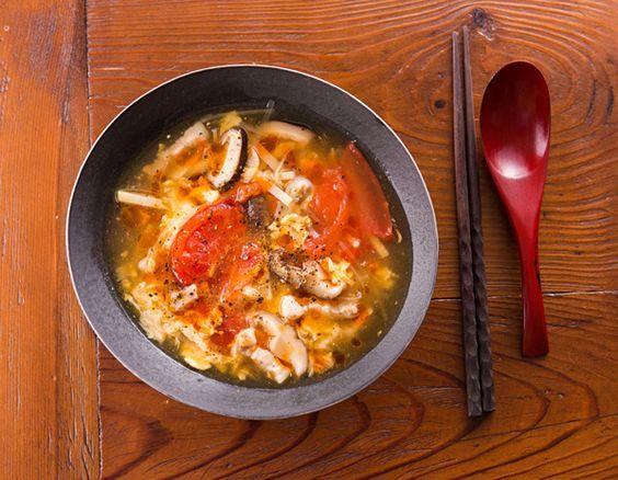 トマト酸辣湯