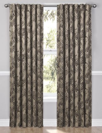 Curtains Ideas curtain panels on sale : Tosca Gold Drapery Panel for sale at Walmart Canada. Find Home ...