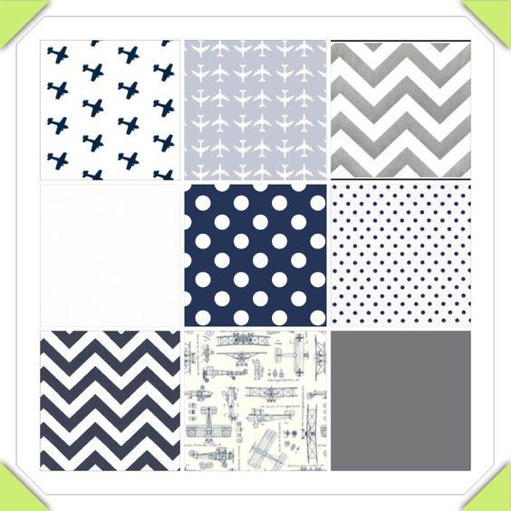 Nursery colors/theme. Airplanes