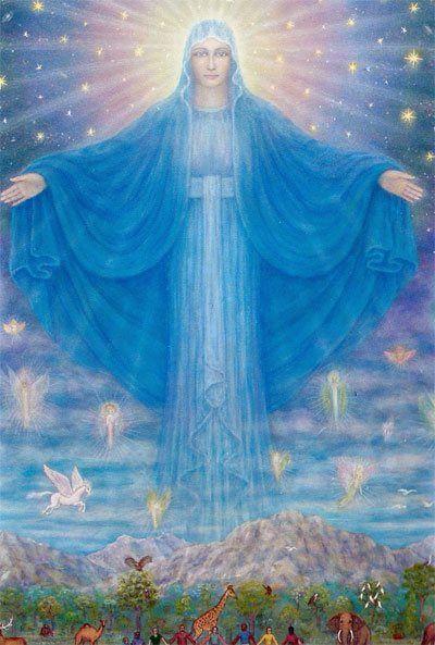 The World Mother Mary Artist Peter Fich Christiansen <a href=