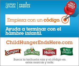 Ayuda a terminar con el hambre infantil