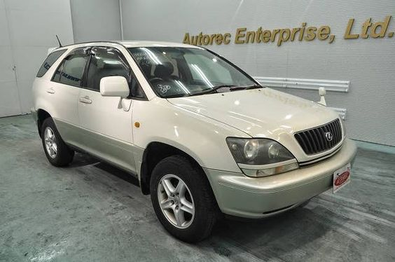 Japanese vehicles to the world: 1999 Toyota Harrier 4WD for Tanzania to Dar es sal...