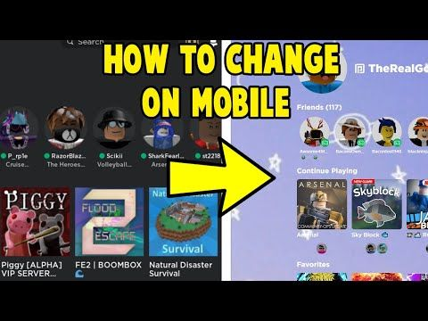 How To Change Your Roblox Background On Mobile Youtube Roblox You Changed High School Advice