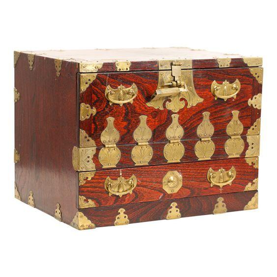 vintage korean wedding chest amazoncom oriental furniture korean antique style liquor