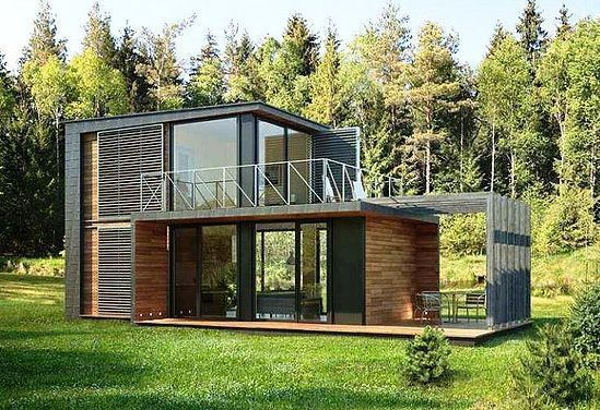 2 Weekend Modern Container Small House