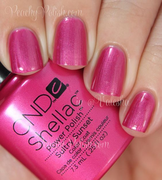 CND Sultry Sunset | Summer 2014 Paradise Collection | Peachy Polish