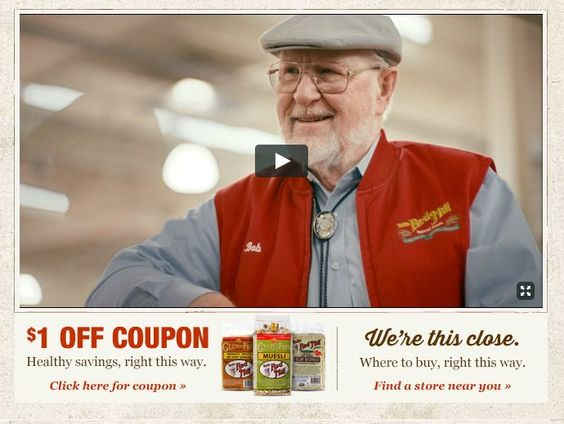 Visit our homepage for a stellar coupon good for any product. #goodfoodforall www.bobsredmill.com