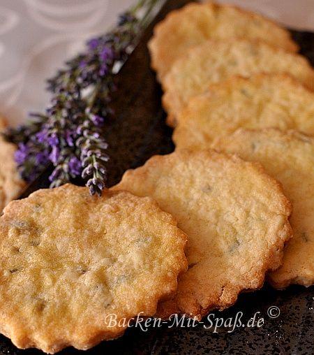 Lavendelkekse - Rezept