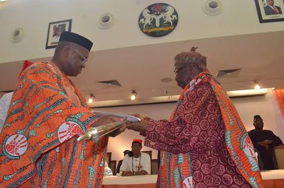 GOV. EMMANUEL PRESENTS STAFF OF OFFICE TO EDIDEM CHARLES ABIA EDIDEM CHRISTOPHER   In the spirit of the 29th Anniversary celebration of the creation of Akwa Ibom State two Paramount Rulers Edidem Etim Charles Abia of Eket Local Government Area and Edidem Christopher Atat Nkan of Oruk Anam Local Government Area have been presented with staff of office.  Addressing the Royal Fathers shortly after the presentation of the staff of office at the Banquet Hall Government House - Uyo the state…