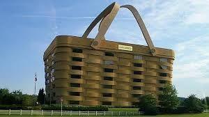 edificio en una cesta!