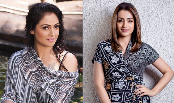 Trisha and Simran to join for a mega budget action adventure film.