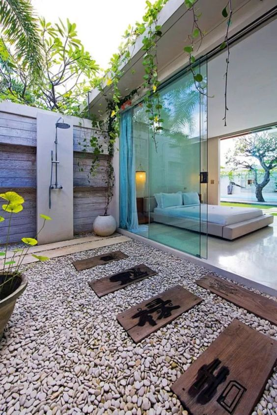 10+ Top And Wonderful Outdoor Bathroom Design Ideas – ROOMY