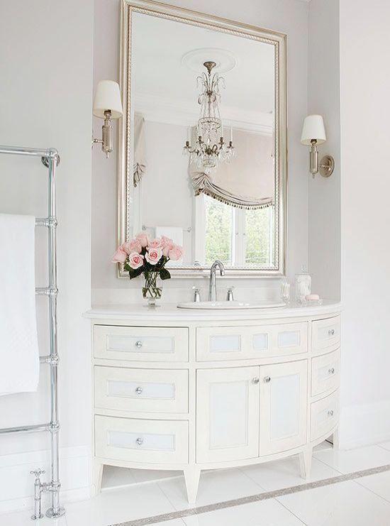 Luxury Bathroom Escape Walkthrough Elegant Soap Dispensers Luxurybathroomescapewalkthrou White Vanity Feminine Shabby Chic