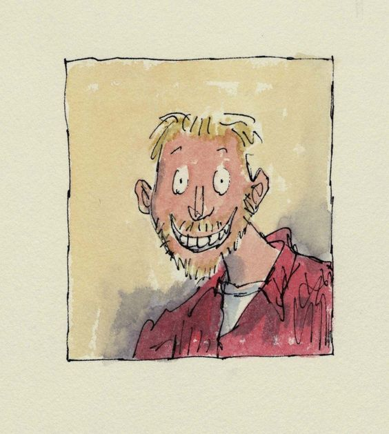 Quentin Blake Art Show Will Remind You of the Good Ol' Days #roalddahl #illustration #books #literature #quentinblake