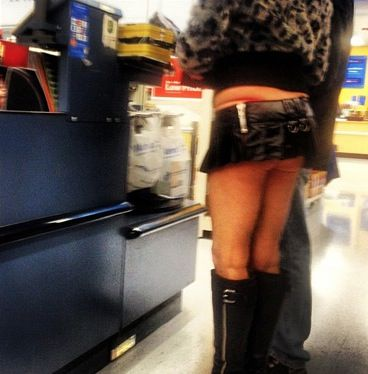 Skirt boots, Leather mini skirts and Walmart on Pinterest