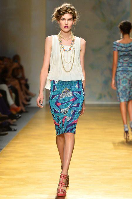 Nicole Miller, Spring / Summer 2014, New York Fashion Week #NYFW #SS14