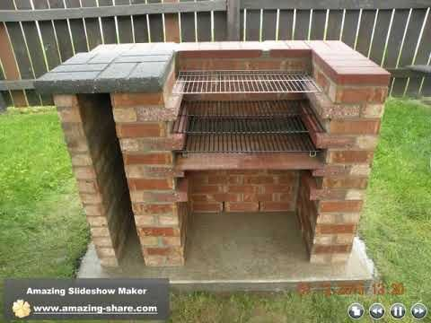 Building A Brick Charcoal Grill In 2020 Charcoal Grill Charcoal Grill Smoker Brick