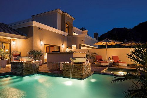Imagen de house, luxury, and pool