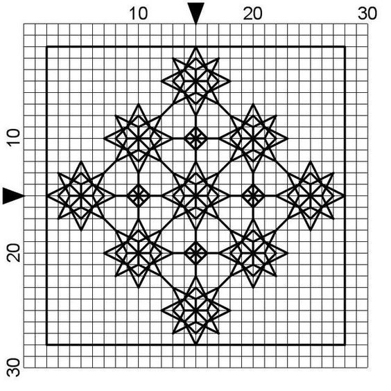 Free blackwork and cross stitch patterns sewing projects