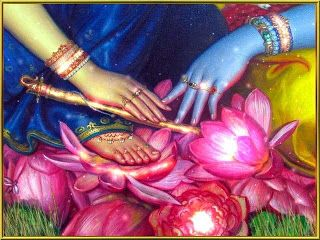Lotus Feet: Os pés de lotus de Krishna