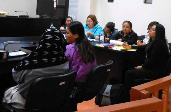 Sexual slavery wounds persist in Guatemala, 2012-10-19    Super brave Q'eqchi' women testify in the Guatemalan High Risk Court regarding sexual slavery during the internal armed conflict - and their experiences on/near the Sepur Zarco base in Izabal.