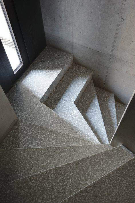 House T, Zuoz, 2012 - Men Duri Arquint #staircases