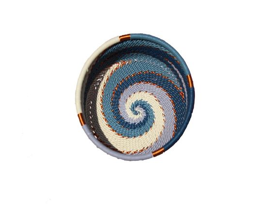 new african small straight basket | via rummage home